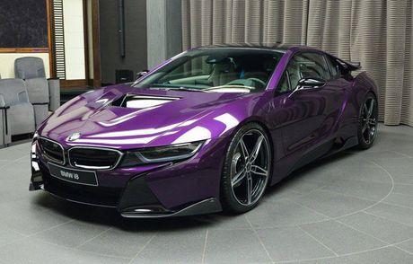 Me man voi BMW i8 mang mau 'Tim Chang Vang' cuc doc - Anh 11