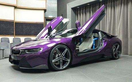 Me man voi BMW i8 mang mau 'Tim Chang Vang' cuc doc - Anh 3