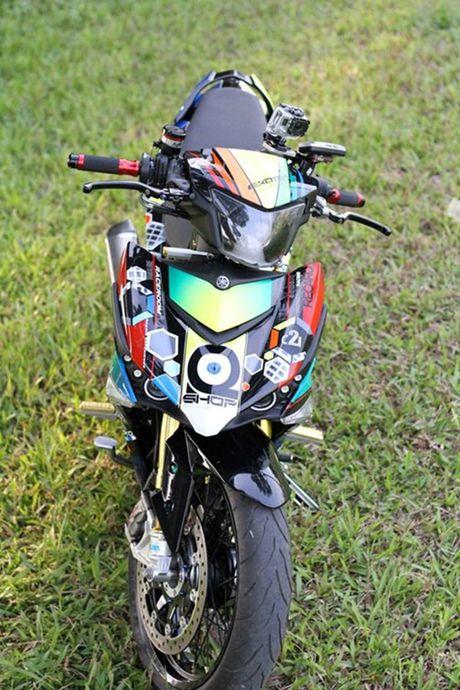 'Dan choi' Ha thanh chi hon 200 trieu do Yamaha Exciter 150 - Anh 7