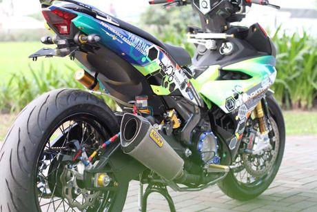 'Dan choi' Ha thanh chi hon 200 trieu do Yamaha Exciter 150 - Anh 9