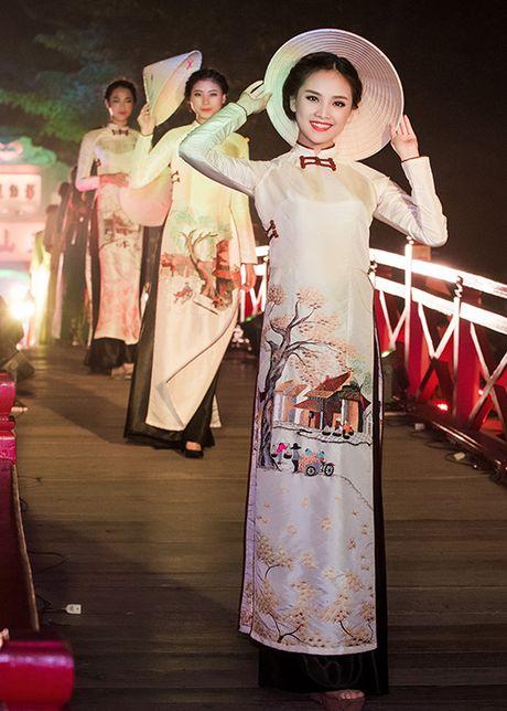 Top 10 Hoa hau VN 2016 To Nhu tu tin lam vedette - Anh 5