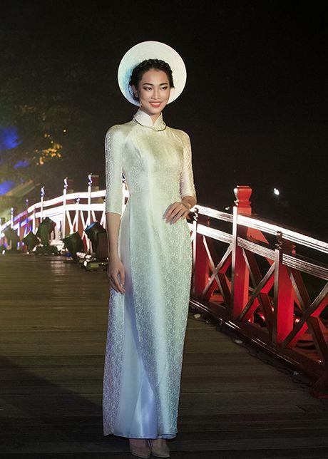 Top 10 Hoa hau VN 2016 To Nhu tu tin lam vedette - Anh 9