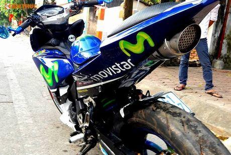 Exciter 135 do X1R 'sieu khung' cua dan choi Vinh Phuc - Anh 8