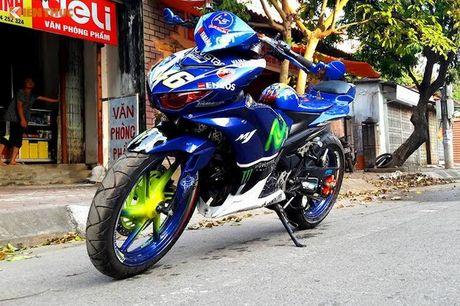 Exciter 135 do X1R 'sieu khung' cua dan choi Vinh Phuc - Anh 9