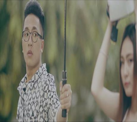 Chau Khai Phong cau hon ban gai trong MV moi - Anh 1