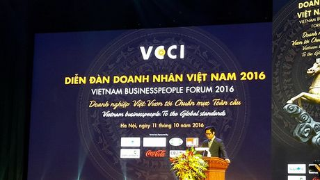 Chu tich VCCI: doanh nhan Viet dung chi dua vao 'quan he' - Anh 1