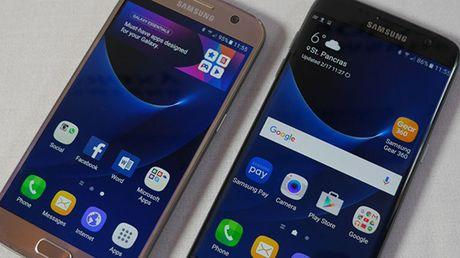 Galaxy S8 khong co nut Home, may anh kep, tuy chon chip - Anh 1