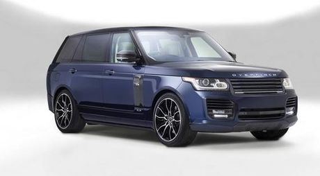 Can canh Range Rover Autobiography ban do mot chiec duy nhat tren the gioi - Anh 1