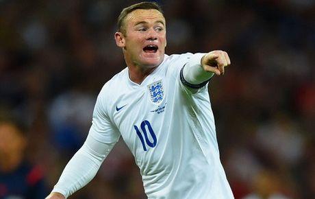 "Wayne Rooney tiep tuc bi ""hat hui"" tai doi tuyen Anh - Anh 1"