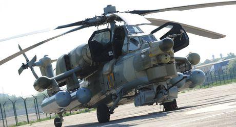 Uy luc truc thang Mi-28NM Nga co the quet muc tieu o nhieu dai tan - Anh 1