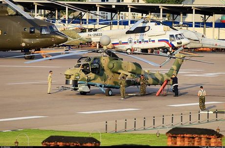 Uy luc truc thang Mi-28NM Nga co the quet muc tieu o nhieu dai tan - Anh 2