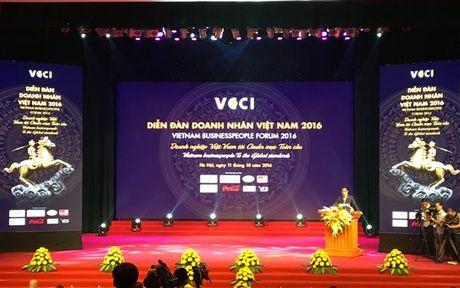 Doanh nhan Viet Nam can tien toi chuan muc toan cau - Anh 1