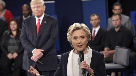 'Gan 50% nguoi My goc Viet nga ve ba Clinton' - Anh 1