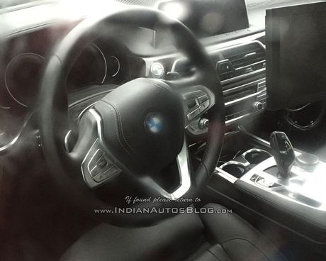 BMW 5 Series 2017 lo anh noi that - Anh 2