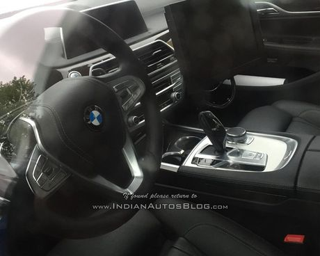 BMW 5 Series 2017 lo anh noi that - Anh 4