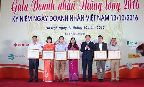 Ha Noi vinh danh cac doanh nghiep, doanh nhan - Anh 3