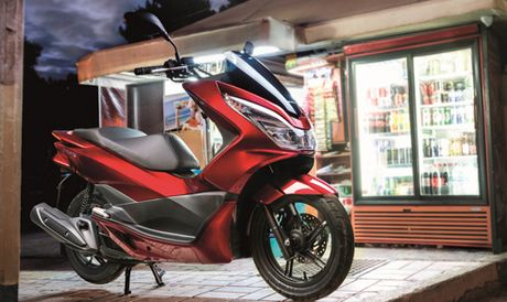 Honda nang cap mau tay ga PCX125 2017 - Anh 1