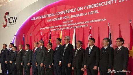 Singapore khoi dong chuong trinh Nang cao nang luc an ninh mang ASEAN - Anh 1