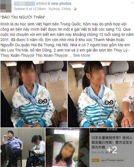 He lo danh tinh be gai 12 tuoi mang thai tai Trung Quoc - Anh 1