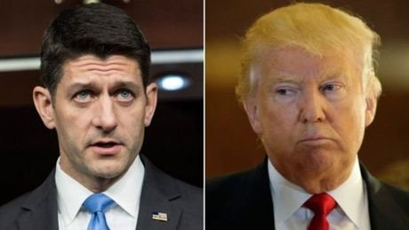 "Chu tich Ha vien Paul Ryan ""se khong bao ve Trump"" - Anh 1"