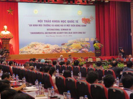 Hoi thao An ninh moi truong hang hai va hang khong tren bien Dong - Anh 1
