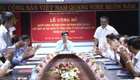 Ong Pham Hong Quang lam Bi thu Dang uy TCT Cuu Long - Anh 2