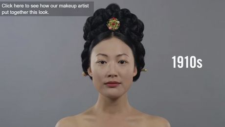 Trong vong 100 nam xu huong make up va lam toc cua phu nu Han Quoc da thay doi nhu the nao? - Anh 1