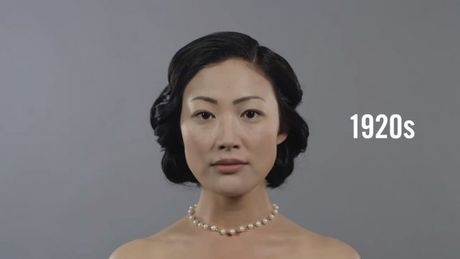 Trong vong 100 nam xu huong make up va lam toc cua phu nu Han Quoc da thay doi nhu the nao? - Anh 2