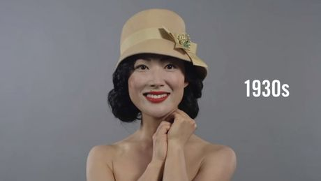 Trong vong 100 nam xu huong make up va lam toc cua phu nu Han Quoc da thay doi nhu the nao? - Anh 3