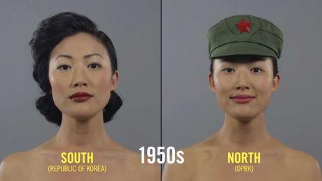 Trong vong 100 nam xu huong make up va lam toc cua phu nu Han Quoc da thay doi nhu the nao? - Anh 5