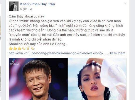Phe phan dan ong Viet khong biet uong bia, Mai Ngo nhan mot 'ro gach' tu anh em nghe si - Anh 10