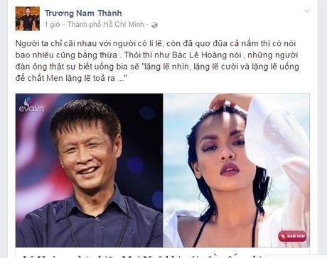 Phe phan dan ong Viet khong biet uong bia, Mai Ngo nhan mot 'ro gach' tu anh em nghe si - Anh 7