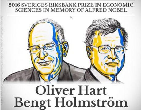 Hai giao su kinh te tro thanh chu nhan giai Nobel Kinh te 2016 - Anh 1