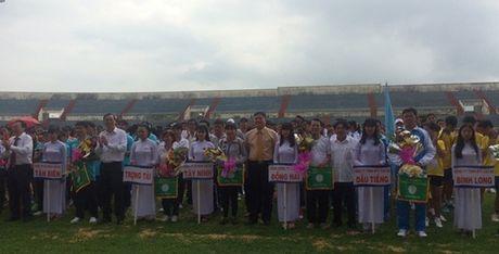 Hon 600 van dong vien du hoi thao CNVCLD Tap doan Cong nghiep Caosu VN - Anh 2