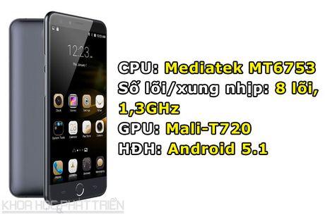 Smartphone cam bien van tay, RAM 3 GB, gia hon 3 trieu dong - Anh 1