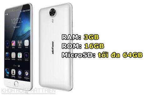 Smartphone cam bien van tay, RAM 3 GB, gia hon 3 trieu dong - Anh 2