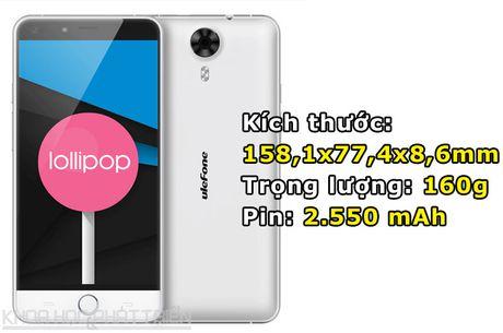 Smartphone cam bien van tay, RAM 3 GB, gia hon 3 trieu dong - Anh 3