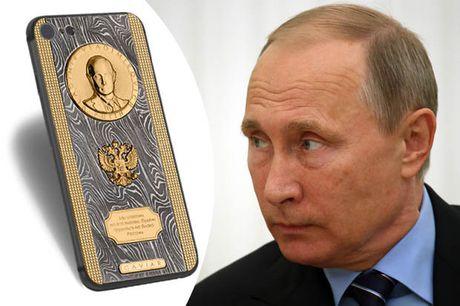 Chiec iPhone 7 sieu 'doc' cua Putin - Anh 1