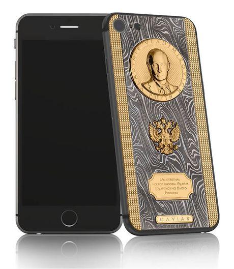 Chiec iPhone 7 sieu 'doc' cua Putin - Anh 2