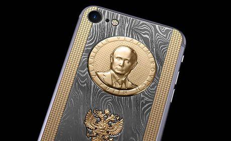 Chiec iPhone 7 sieu 'doc' cua Putin - Anh 3