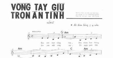 Cap phep luu hanh, pho bien 18 ca khuc sang tac truoc nam 1975 - Anh 1