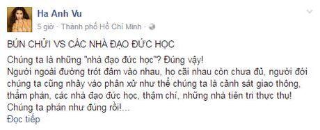 "Sieu mau Ha Anh: ""Bun chui va cac nha dao duc hoc"" - Anh 3"
