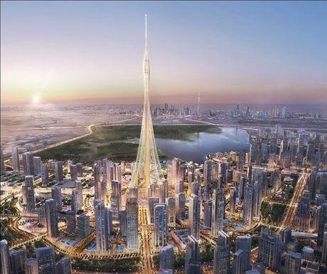 Dubai tu pha ki luc, tiep tuc xay toa nha cao nhat TG - Anh 1