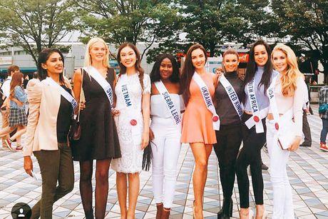 Phuong Linh tro thanh Dai su du lich tai Miss International 2016 - Anh 9