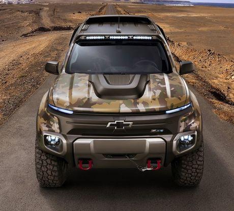 Chevrolet Colorado 'hang thua cuc dinh' cua quan doi My - Anh 3