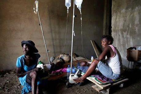 """Haiti khon don sau """"sieu bao"""" Matthew - Anh 1"""