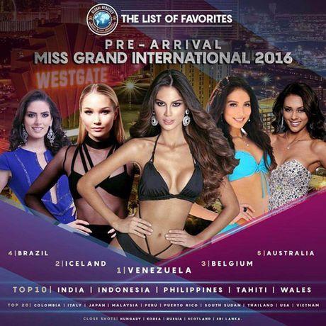 Nguyen Thi Loan se lot top 20 trong Miss Grand International 2016? - Anh 1