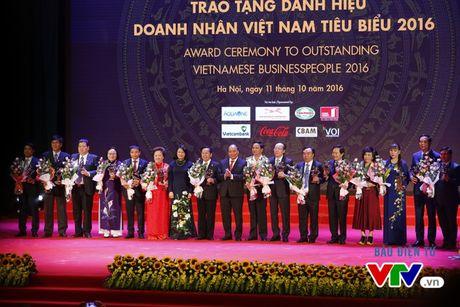 Vinh danh 100 doanh nhan Viet Nam tieu bieu 2016 - Anh 1