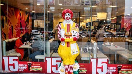 Hang do an nhanh McDonald rut linh vat do trao luu gia he - Anh 1