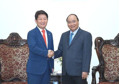 Thu tuong Nguyen Xuan Phuc tiep Thi truong TP. Daegu (Han Quoc) - Anh 1